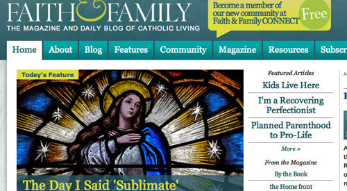 Faith & Family Magazine